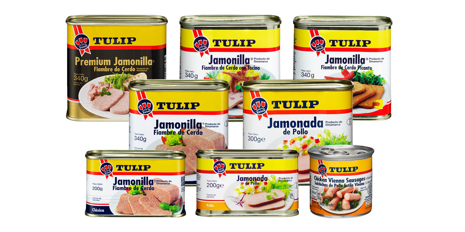 Tulip product line in Panama